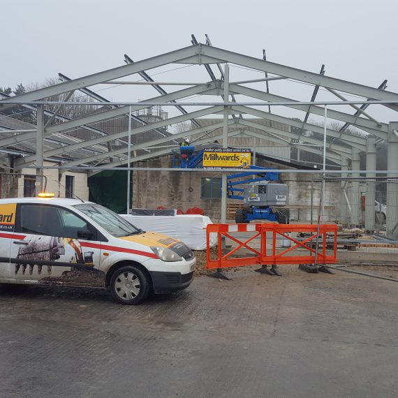 Industrial Building Extension, Aggregate Industries