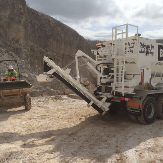 ready mix concrete and screed derby