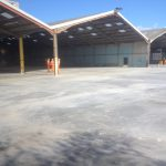 6600 cubic meters concrete base, Aggregate Industries