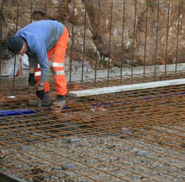 Reinforced Concrete Slabs and Industrial Floors