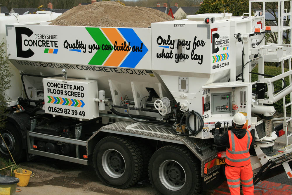 WE SUPPLY AND LAY READY MIX CONCRETE